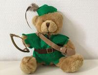 "Robin Hood bamse fra ""The Teddy Bear Collection"""