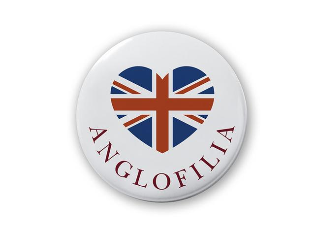 ANGLOFILIA badge