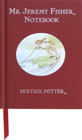 Beatrix Potter notesbog - Jeremy Fisher