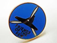 """Friends of the Few"" pin"