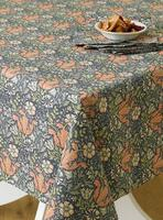 Aflang stofdug William Morris (132 x 178 cm)