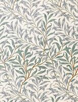 Aflang stofdug William Morris (132 x 229 cm)