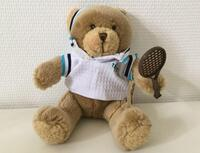 "Tennisspillerbamse fra ""The Teddy Bear Collection"""